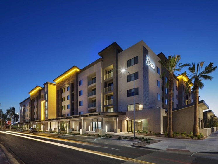 Luxury apartment community  at The Curve at Melrose Luxury Apartments, Phoenix, Arizona
