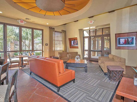 Community Clubhouse With Tv at Painted Trails, Arizona