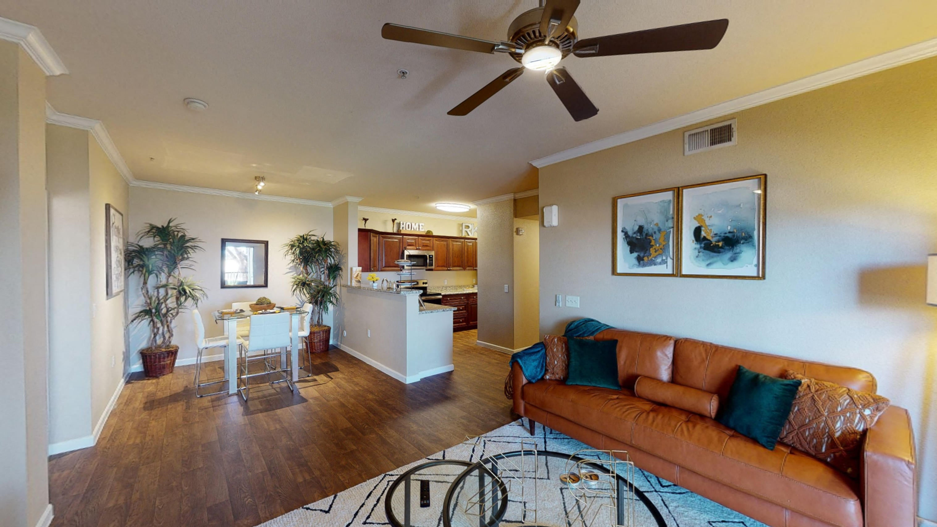 Comfortable Living Room at Painted Trails, Gilbert Arizona