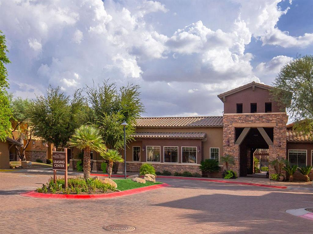 Leasing Center Exterior at Painted Trails, Arizona