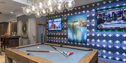 Billiards Table at Berewick Pointe, Charlotte, NC, 28278