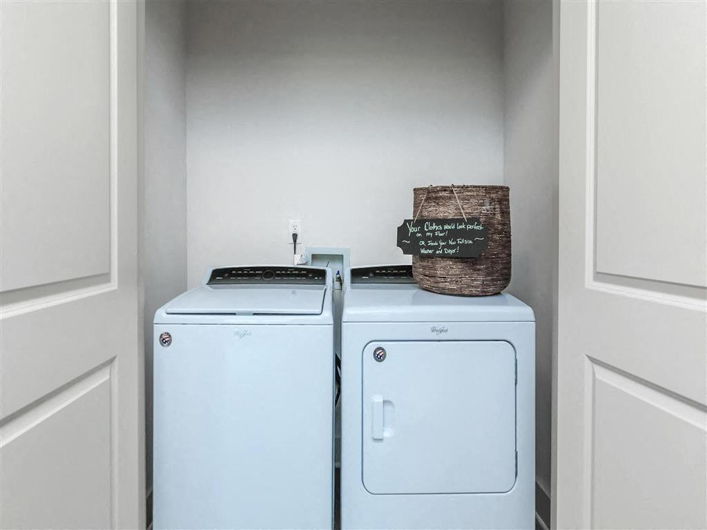 In-Unit Washer And Dryer at Berewick Pointe, North Carolina