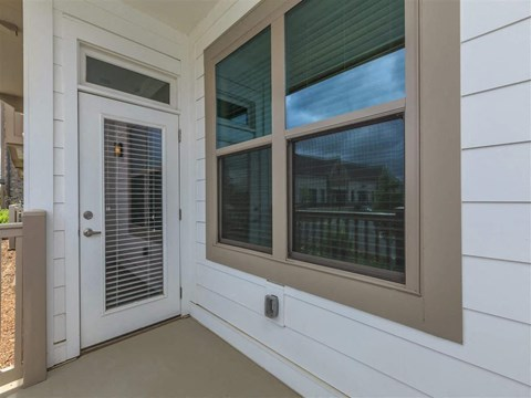 Large Personal Patio of Berewick Pointe in Charlotte Apartment Homes for Rent