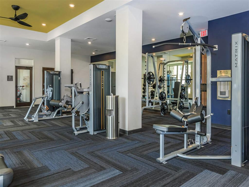 Fitness Center With Modern Equipment at Berewick Pointe, North Carolina, 28278