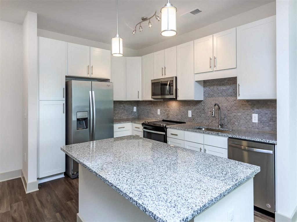 Custom-built White Cabinetry at Berewick Pointe, Charlotte, 28278