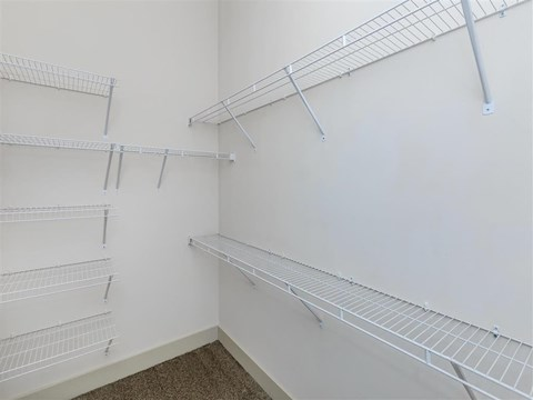 Built-In Shelving In Closet at Berewick Pointe, Charlotte