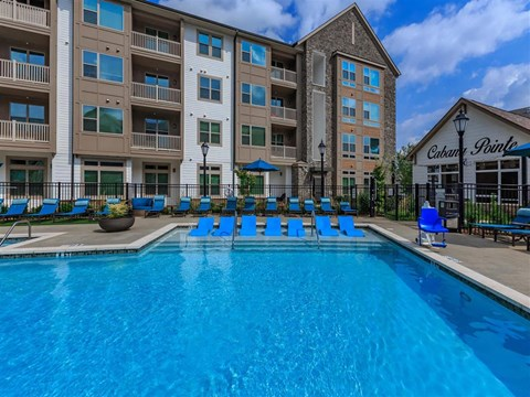 Invigorating Swimming Pool at Berewick Pointe, Charlotte, North Carolina