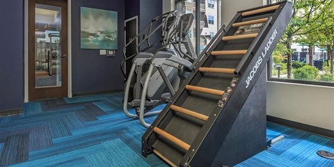 Club-Quality Berewick Pointe Fitness Center at Charlotte Apartments for Rent