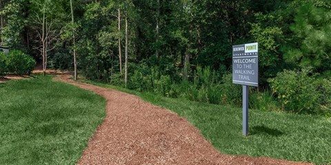 Green Space Walking Trails at Berewick Pointe, Charlotte, NC, 28278