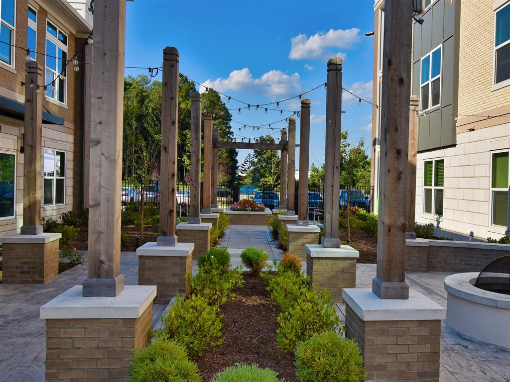 Outdoor Spaces at Pointe at Lake CrabTree, Morrisville, North Carolina