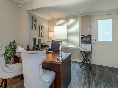 Community Office at Edwards Mill Townhomes & Apartments, North Carolina