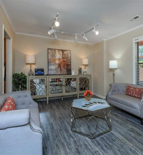 Relaxing Clubhouse at Edwards Mill Townhomes & Apartments, North Carolina, 27612