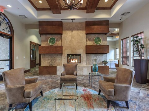 Ample Sitting Space In Clubhouse at Montecito Pointe, Las Vegas, NV