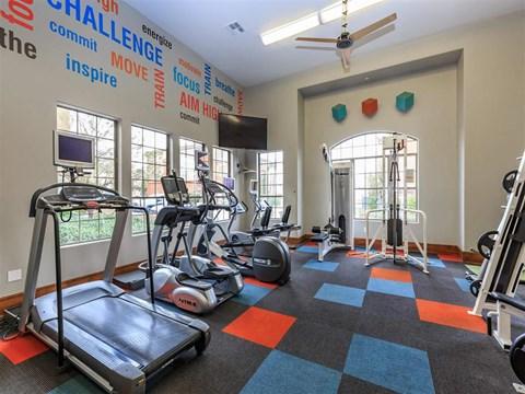 Modern Montecito Pointe Fitness Center in Las Vegas Rentals