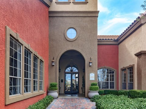 Exquisite Exterior of Montecito Pointe in Las Vegas, Nevada Apartments for Rent