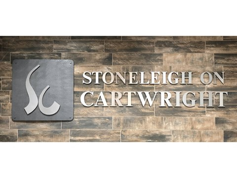 Logo at Stoneleigh on Cartwright Apartments, J Street Property Services, Balch Springs, 75180