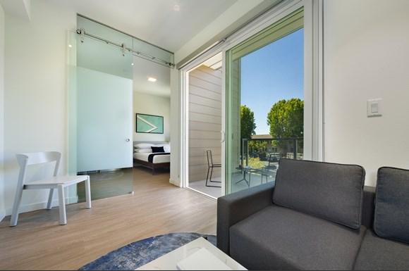 Westchester Apartments Flight Suite A Living Area