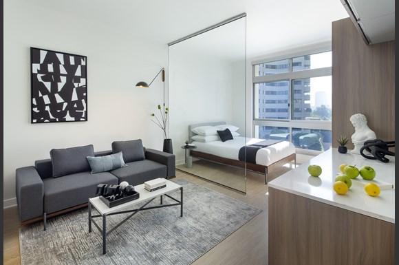 Furnished Westwood Apartments mysuite at Wilshire Margot Co Living Master Suite
