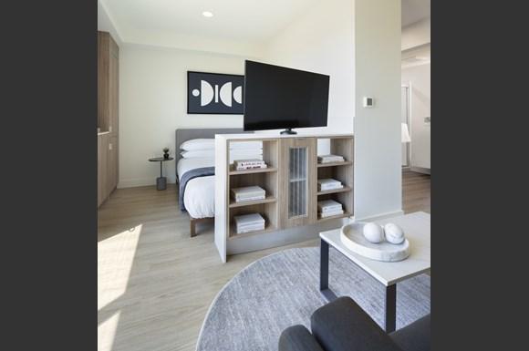 Granada-Hills-Apartments-Mysuite-At-Granada-Hills-Co-Living-Suite-Living-Room-Television