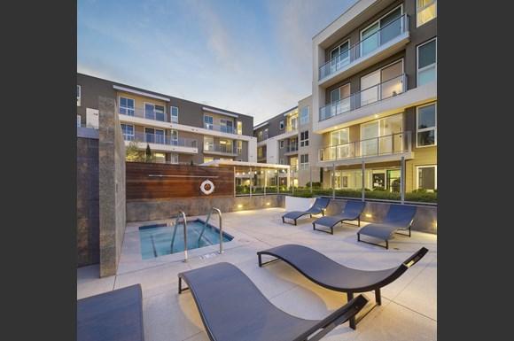 Westchester Apartments Ascent Facade Amenities Courtyard