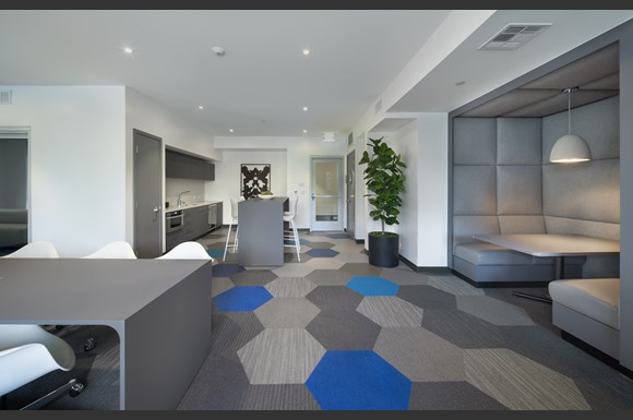 Westchester Apartments Ascent Resident Coworking Lounge