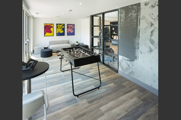 Westchester Apartments Ascent Resident Recreational Room Pool Table