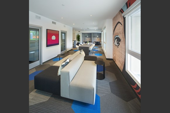 Westchester Apartments Ascent Shared Resident Working Lounge