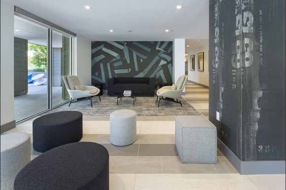 Westchester Apartments Flight Resident lounge