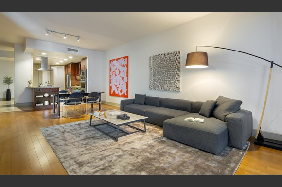 westwood luxury-apartments-wilshire-victoria-unit-401-living-room
