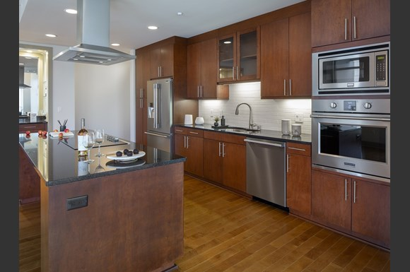 Westwood Luxury Apartments Wilshire Victoria Unit 502 Stainless Steel Upgraded Appliances