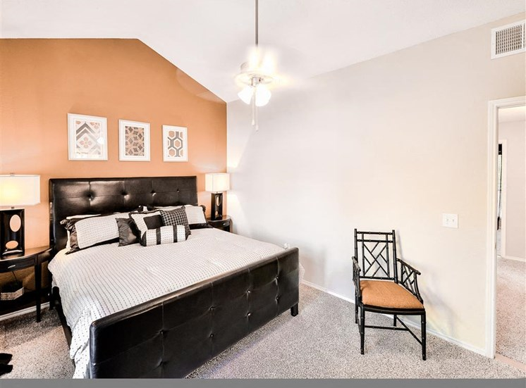 Spacious bedrooms at The Winsted at Valley Ranch in Irving, TX, For Rent. Now leasing 1 and 2 bedroom apartments.
