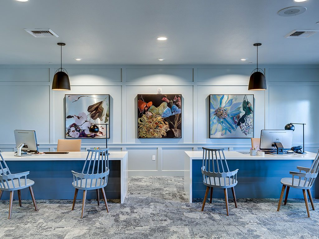Coffee Bar at Domaine at Villebois Apartment Homes, Wilsonville, Oregon