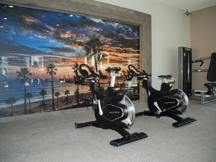 Equipped Fitness Center  at Stonewood Gardens Apartment Homes, 3889 Midway Drive