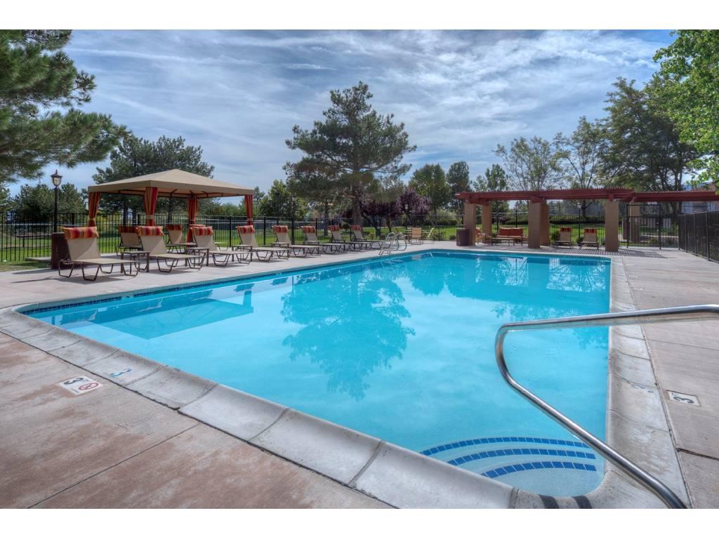 Turquoise Swimming Pool at Vizcaya Hilltop, Reno, Nevada