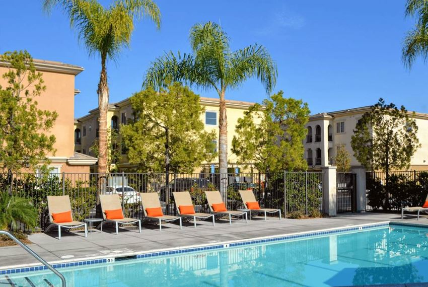 Swimming Pool Area at Union Place Apartments