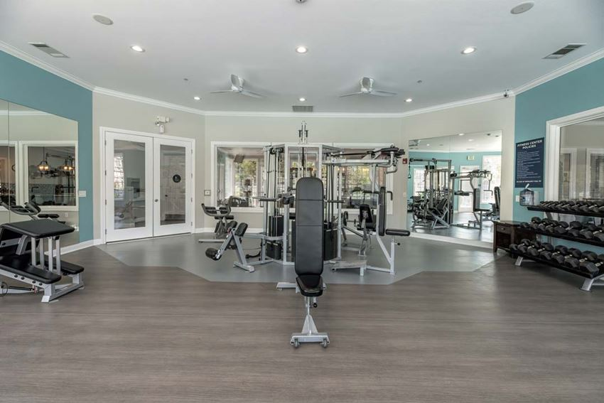 State of the Art Fitness Machines at North Pointe Apartments