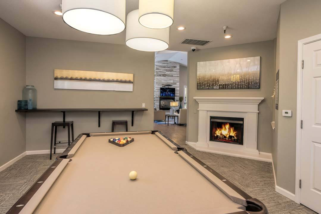 Billiards Table at Atwood Apartments, California, 95610