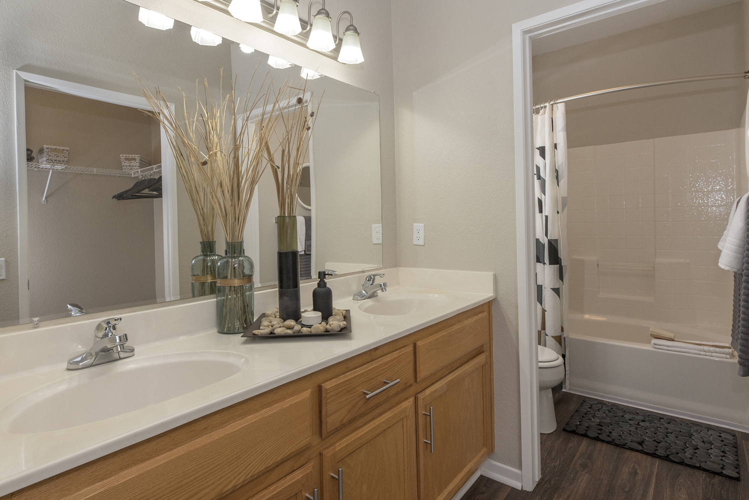 Luxurious Bathrooms at Atwood Apartments, California