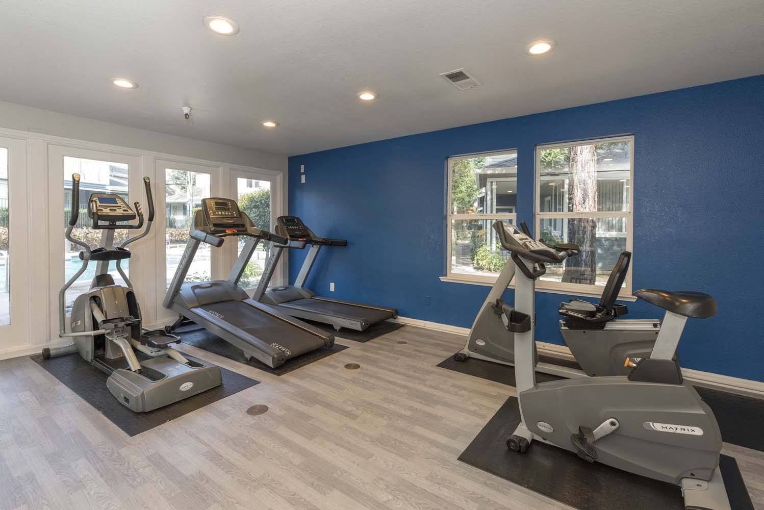 Cardio Machines In Gym at Atwood Apartments, Citrus Heights, CA