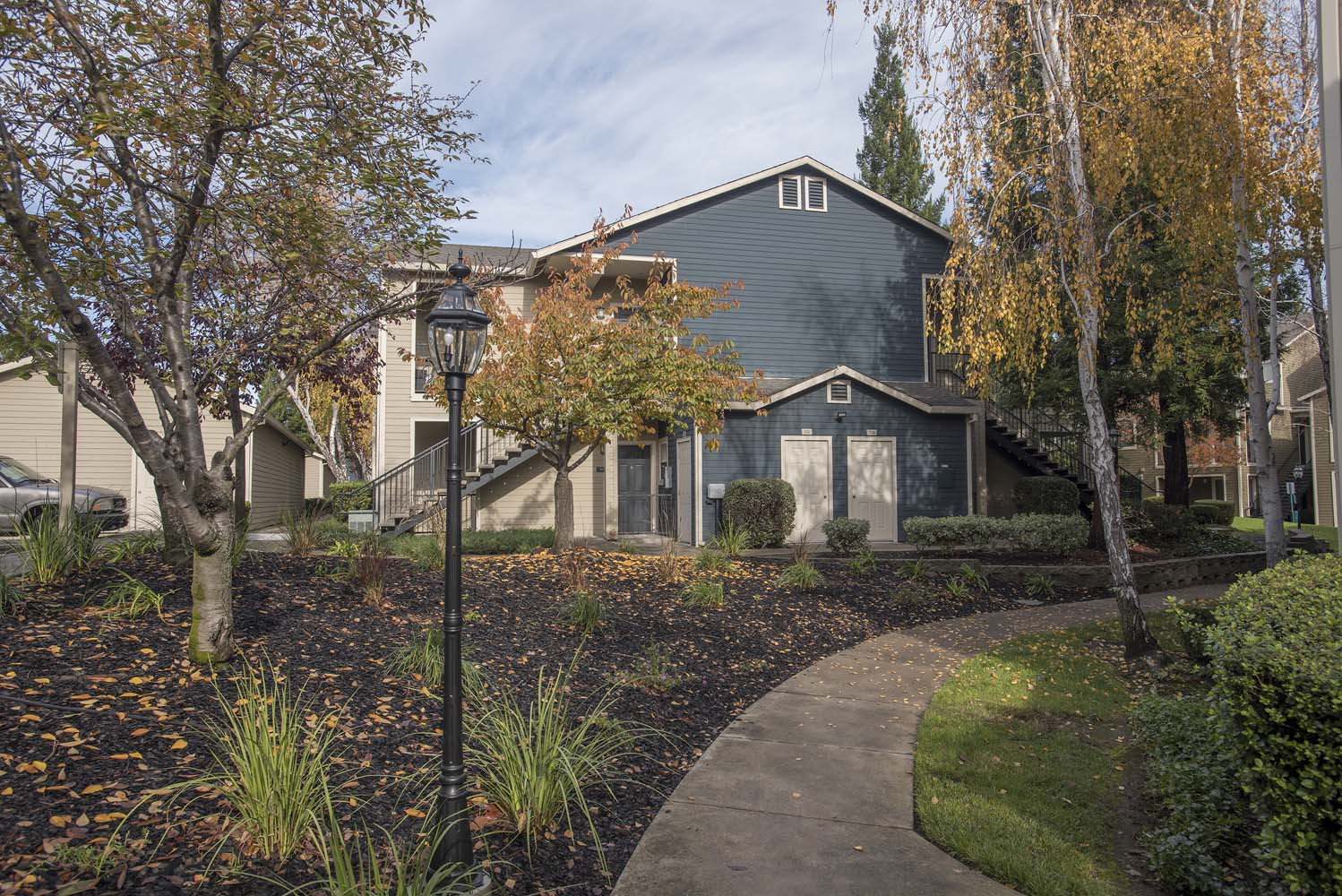 Walking Path at Atwood Apartments, Citrus Heights