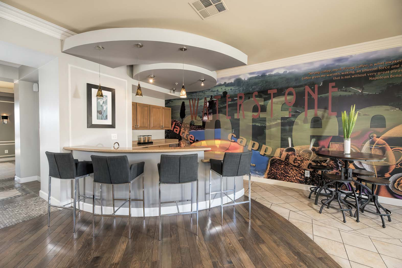 Clubhouse With Catering Kitchen at Waterstone Apartment Homes, Tracy, California