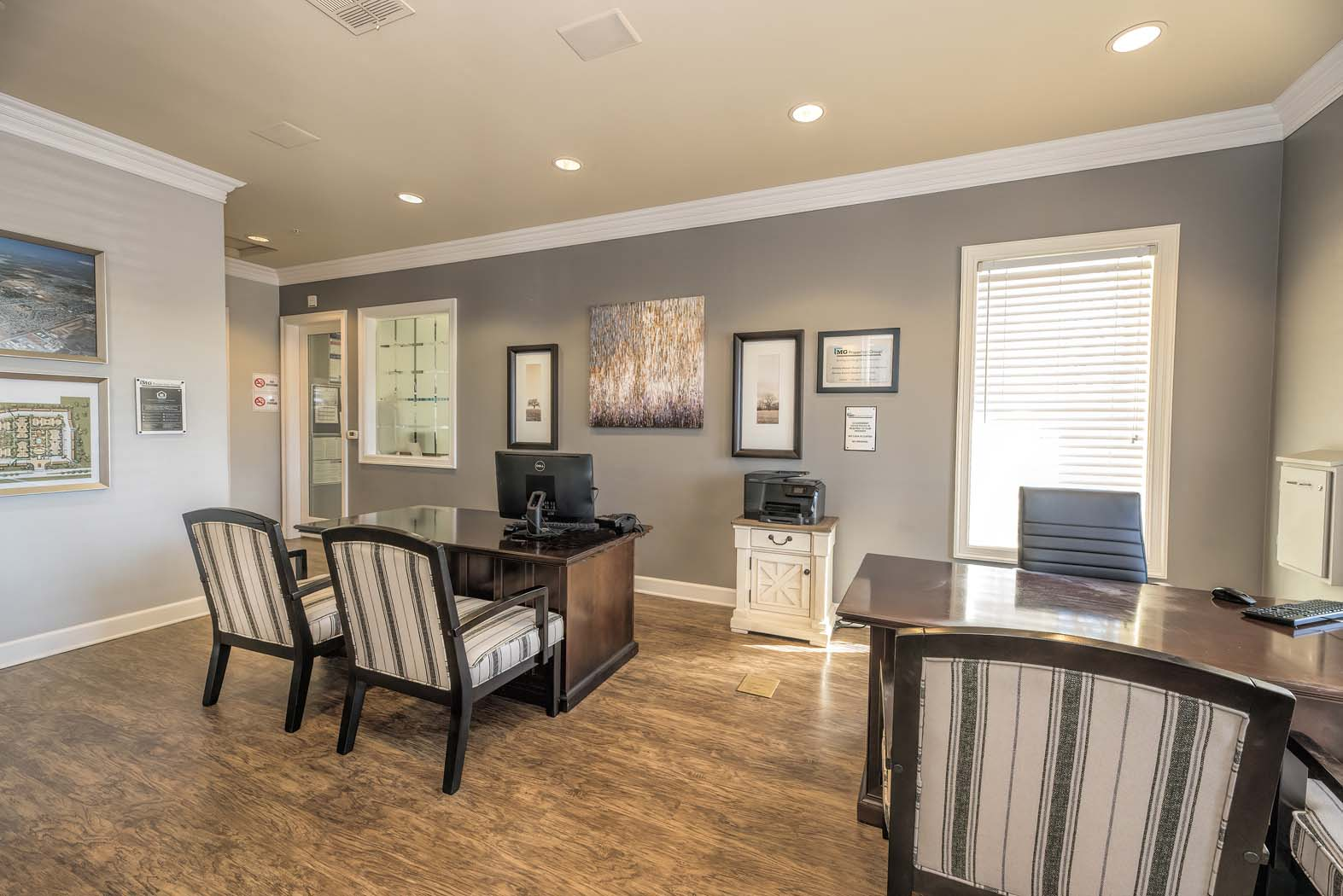 Leasing Office at Waterstone Apartment Homes, California