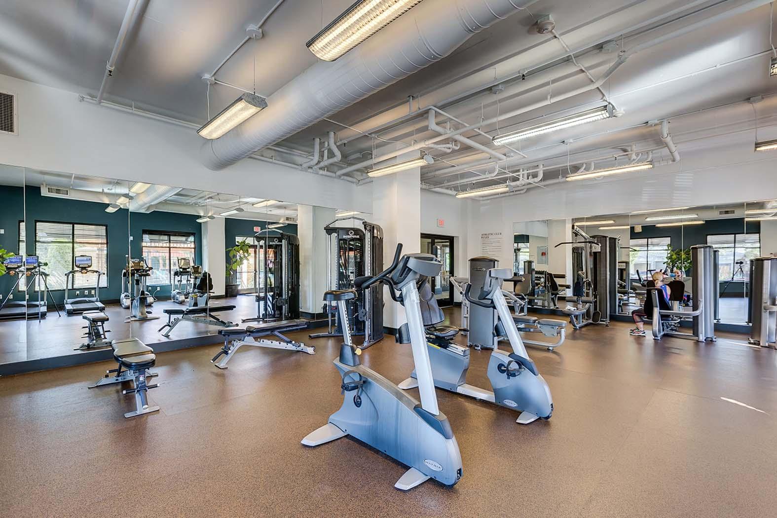 Fitness Center at Domaine at Villebois Apartment Homes, Oregon, 97070