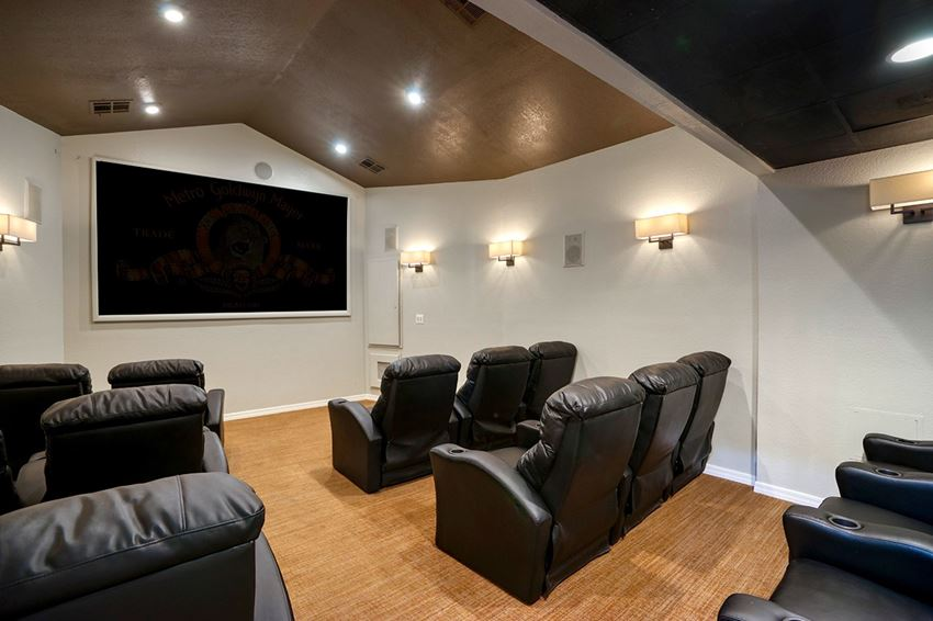 Movie Theater at Garden Grove Apartment Homes