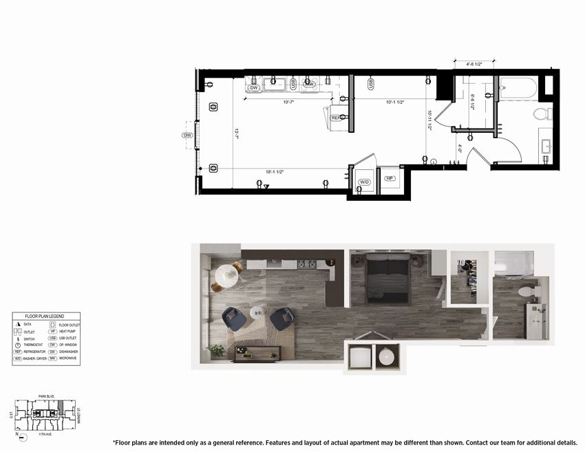 Urban S4 Floor Plan - The Merian