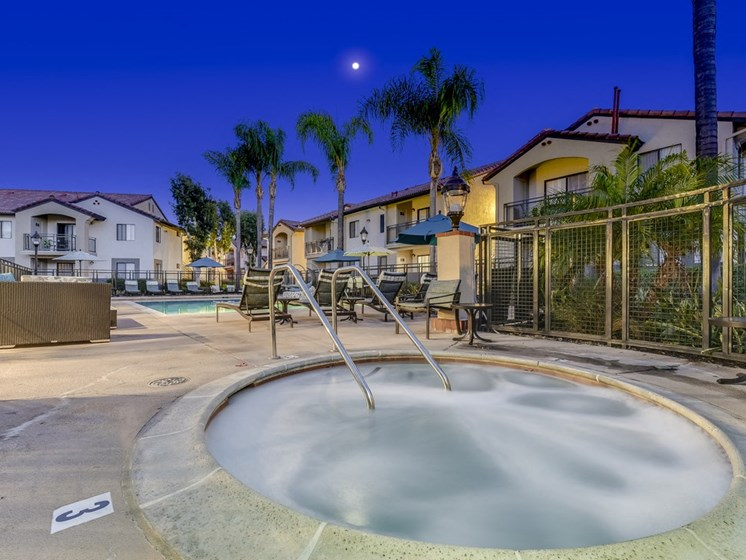 Year-Round Hot Tub at Altair, Escondido, CA