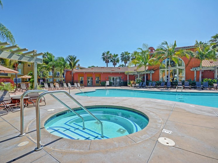 Soothing Spa, at Missions at Sunbow Apartments, Chula Vista, California