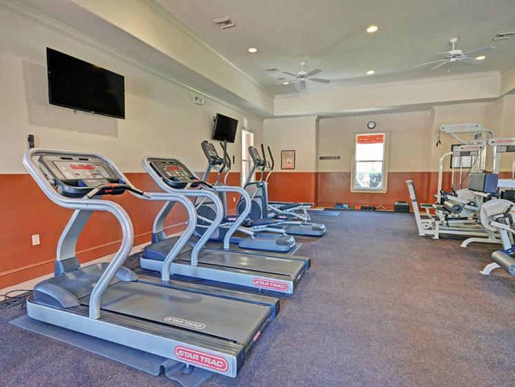 Cardio Equipment, at Missions at Sunbow Apartments, 5540 Ocean Gate Lane