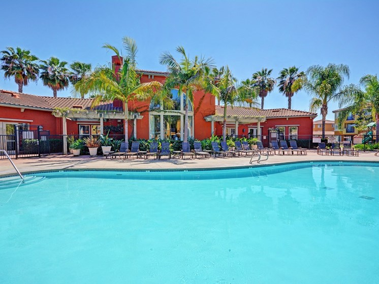 Sparkling Swimming Pool, at Missions at Sunbow Apartments, Chula Vistasaa, 91911