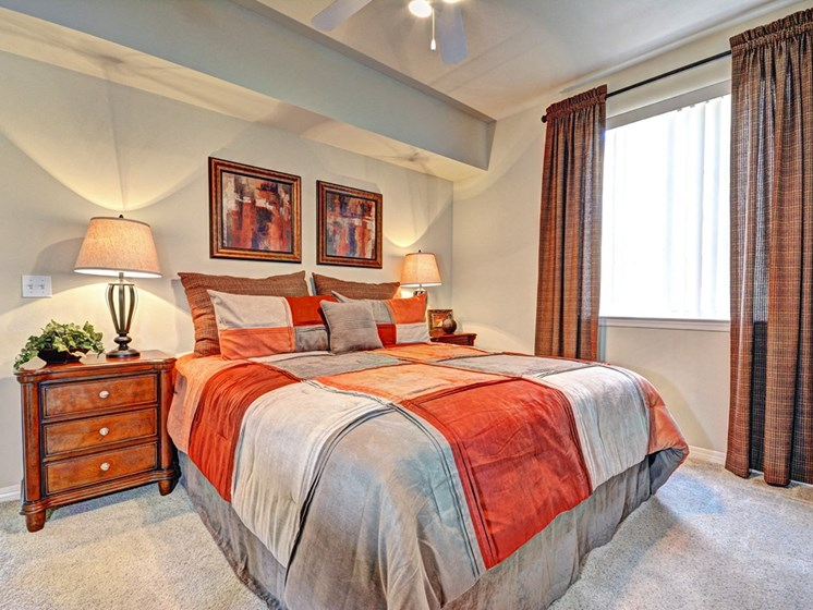 Private Master Bedroom, at Missions at Sunbow Apartments, 5540 Ocean Gate Lane, CA
